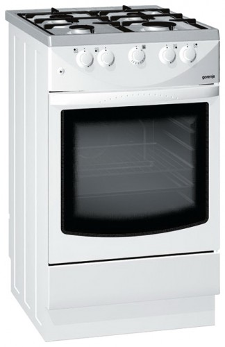 Kitchen Stove Gorenje G 470 W-E, Photo  Characteristics